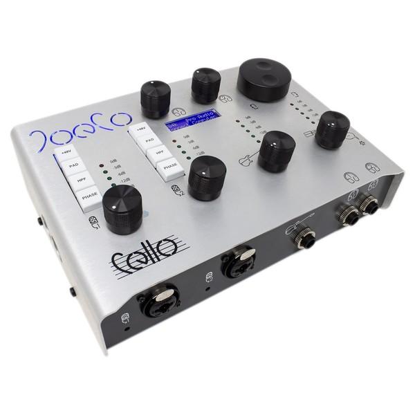 Cello USB Audio Interface - Angled Top