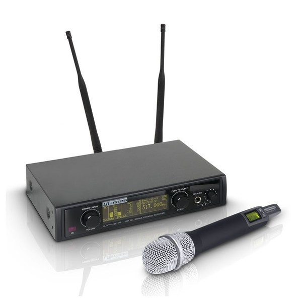 LD Systems WIN 42 Handheld Dynamic Mic Wireless System