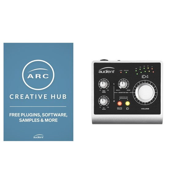 Audient ID4 - ARC 2.0 Creative Hub