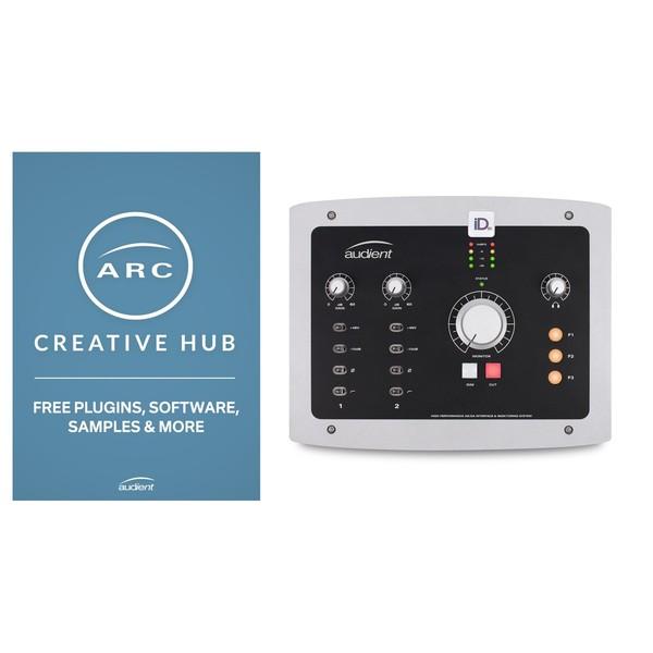 Audient iD22 - Arc Creative Hub 2.0