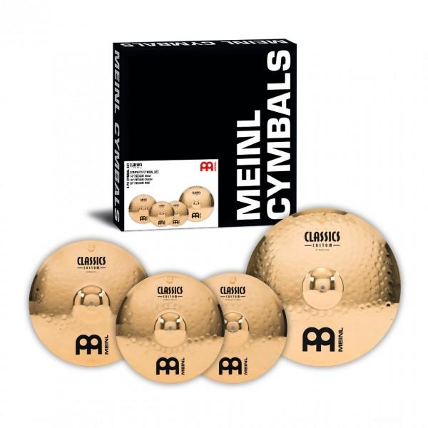 Meinl Classics Custom 14/16/20 Complete Cymbal Set - Main Image