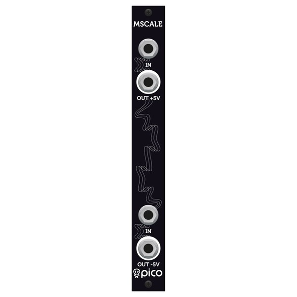 Erica Synths MScale for Moog Mother 32 - Front