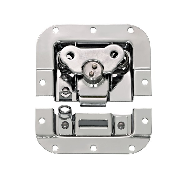Non-Cranked Butterfly Latch with 9mm Depth, Medium main