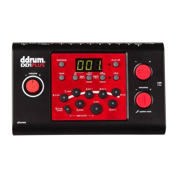 DDrum DD1M Plus Drum Module - Main