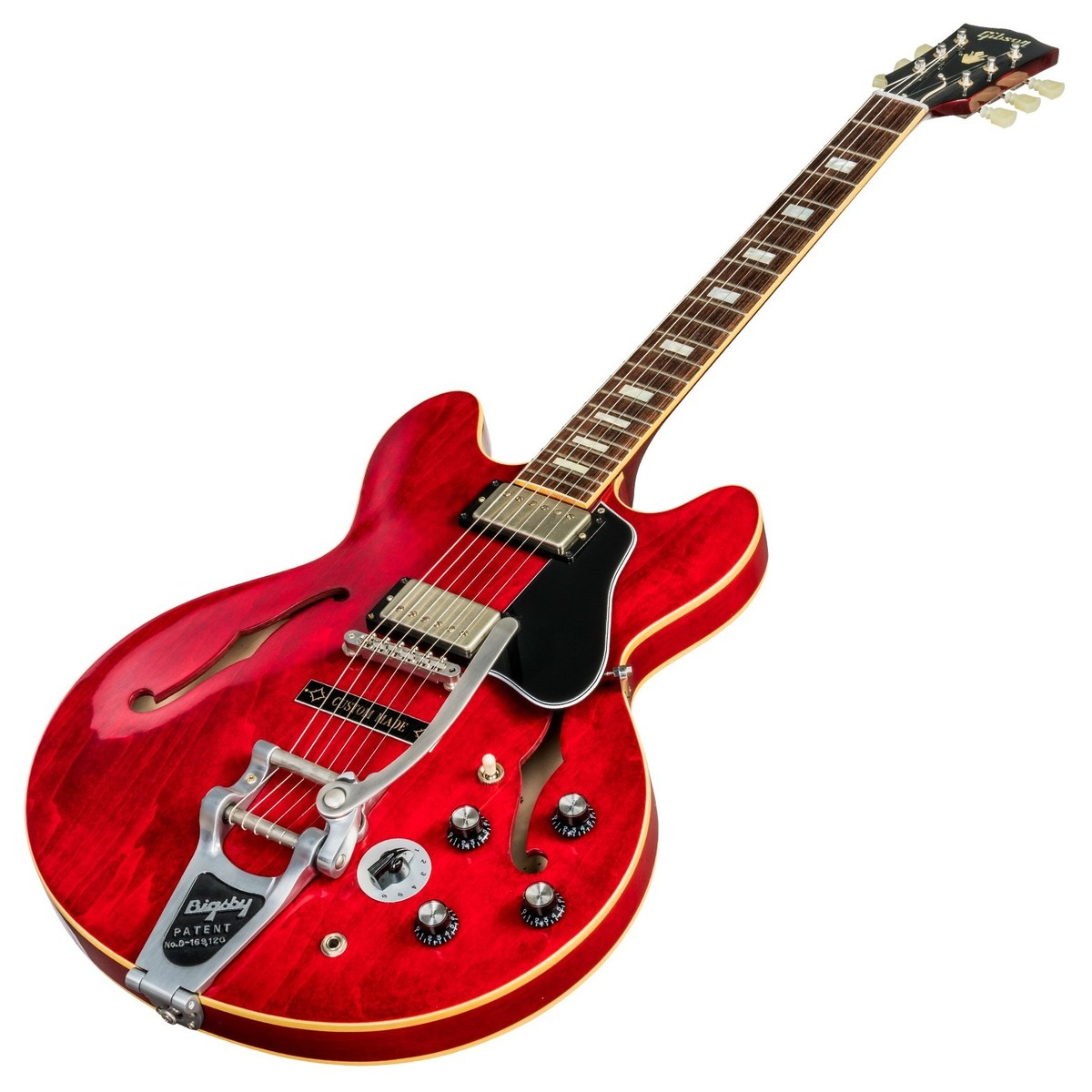 disc gibson es 335 39 63 bigsby 2018 sixties cherry at gear4music. Black Bedroom Furniture Sets. Home Design Ideas