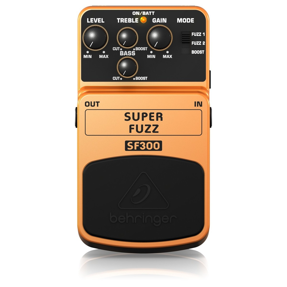Behringer Sf300 Super Fuzz Pedal Box Opened At Gear4music Loading Zoom