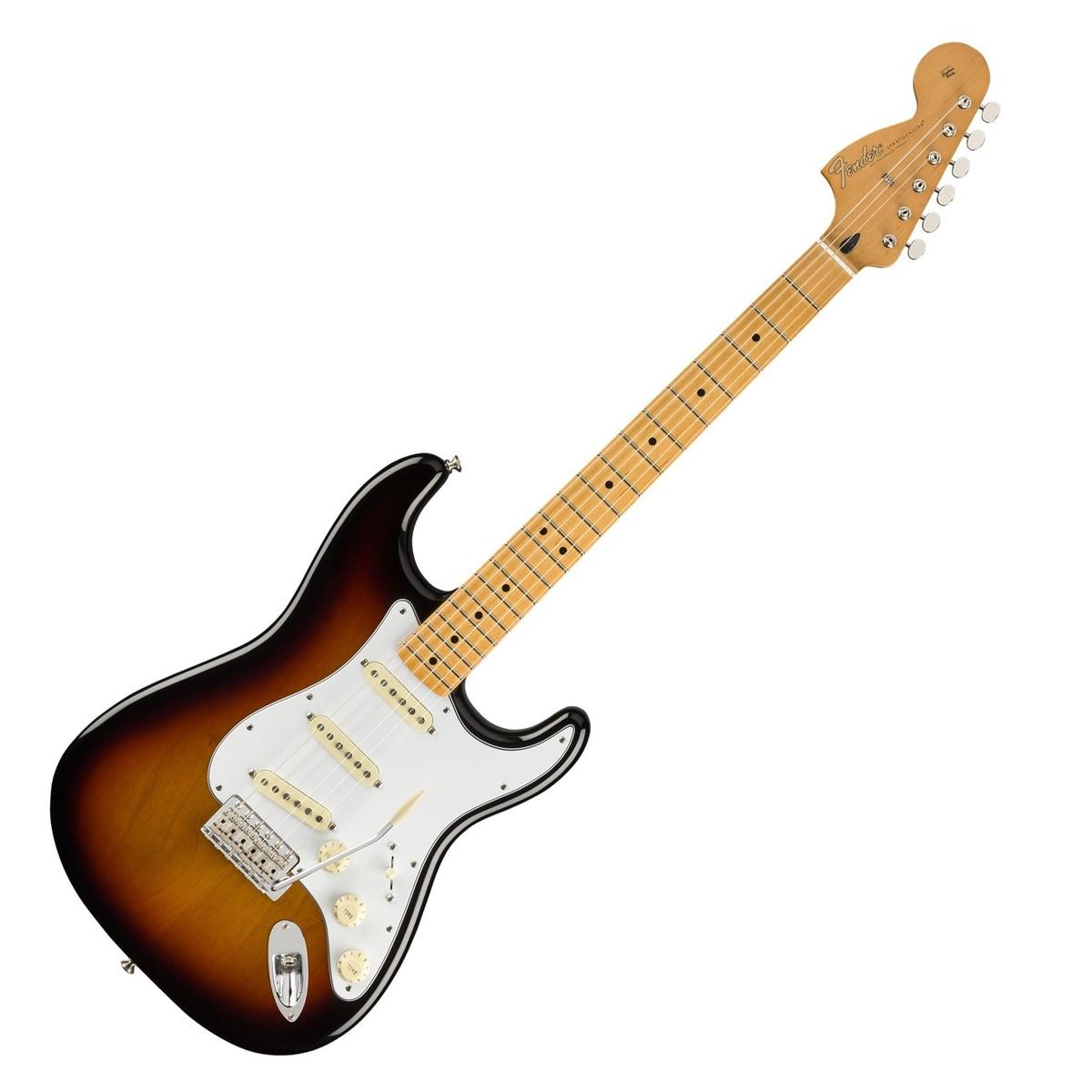 Jimi Hendrix Stratocaster : fender jimi hendrix stratocaster mn 3 tone sunburst at gear4music ~ Vivirlamusica.com Haus und Dekorationen