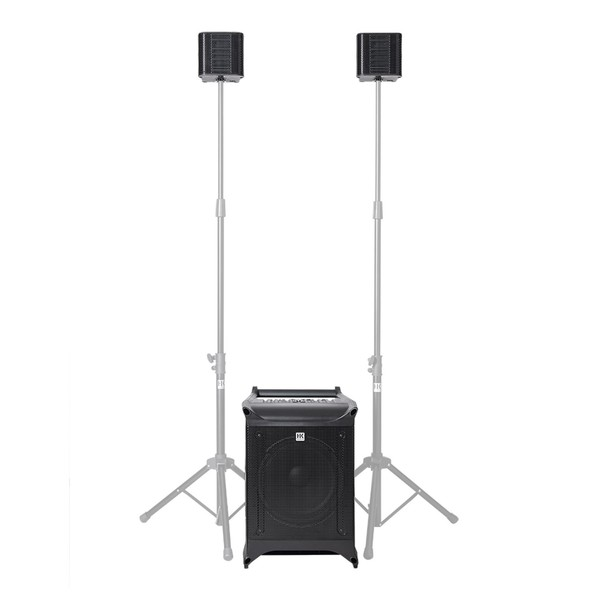 HK Audio LUCAS Nano 608i PA System, Full System Front