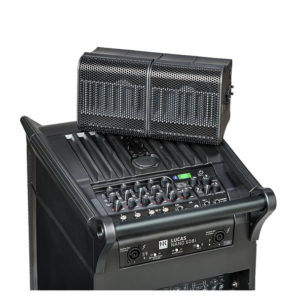 HK Audio LUCAS Nano 608i PA System, Sub Top and Satellites