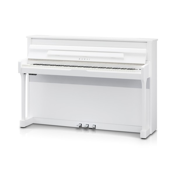 Kawai CS11 Digital Piano, Polished White