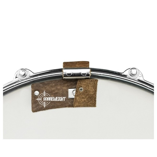Snareweight M1 Snare Dampening System, Brown-Half folded