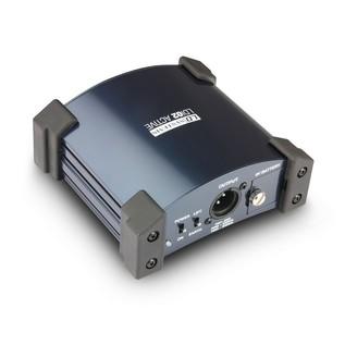 LD System LDI02 Active DI Box Back