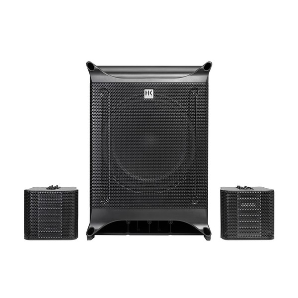 HK Audio Lucas Nano 602 PA System, Full System Front