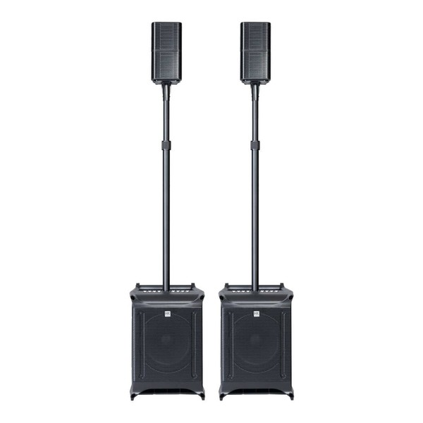 HK Audio Lucas Nano 608i/602 Twin Stereo System, Full System Front