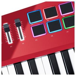 Vortex Wireless 2 Red, Limited Edition - Pads Detail