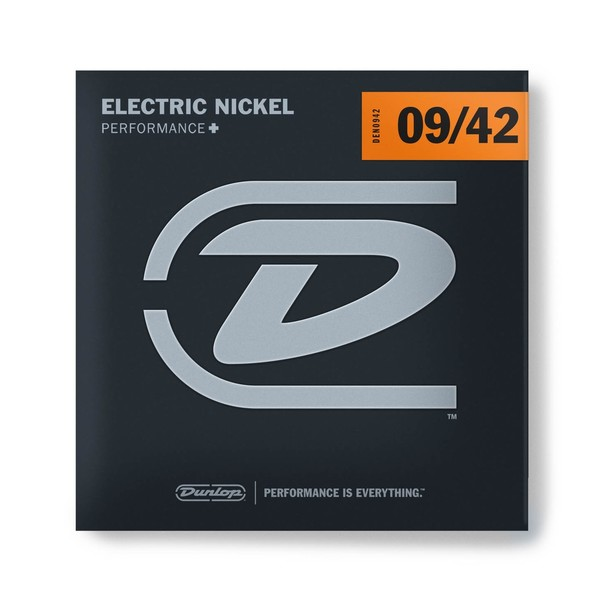 Dunlop Electric Guitar Strings, Nickel Wound, Light 9-42