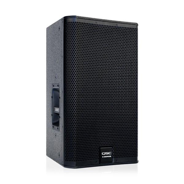 QSC E Series E112 12'' Passive PA Speaker, Front Angled Right