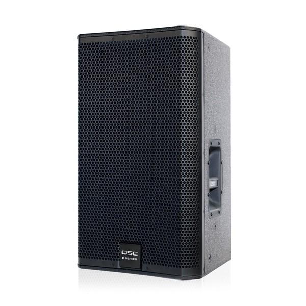 QSC E Series E112 12'' Passive PA Speaker, Front Angled Left