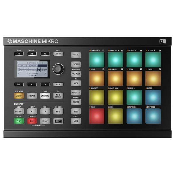 Native Instruments Maschine Mikro MK2, Black - Top