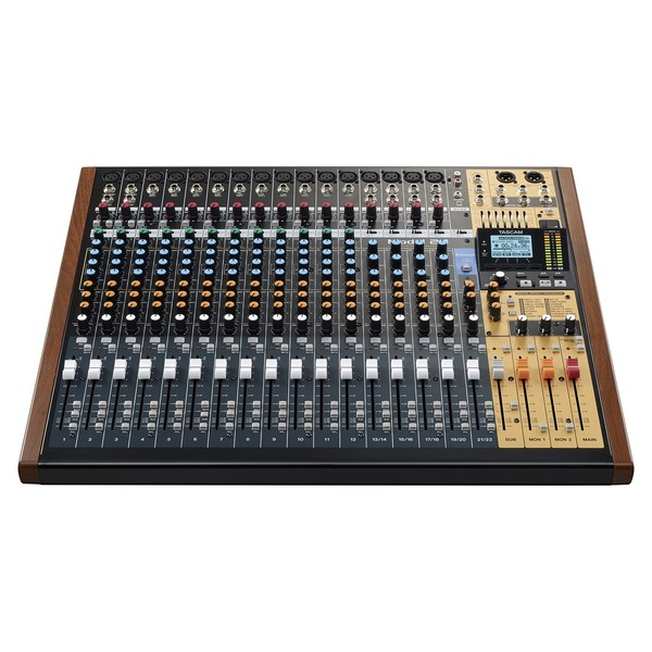 Tascam Model 24 Analog Mixer with Digital Recorder - Main