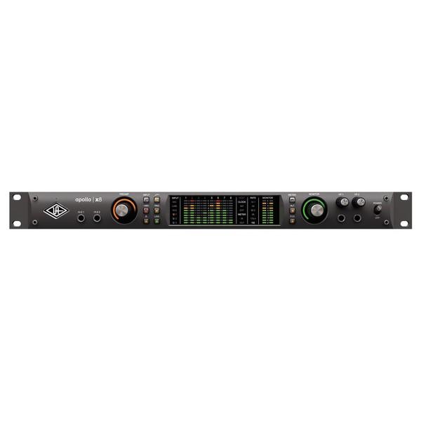 Universal Audio Apollo X8 Thunderbolt 3 Audio Interface - Front