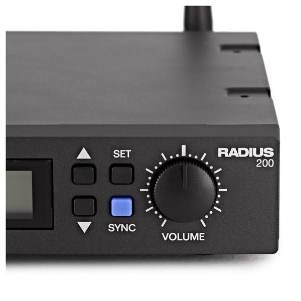 Alto Radius 200 Wireless Lavalier Microphone