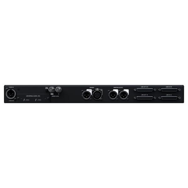 Apollo X16 Thunderbolt 3 Audio Interface - Rear