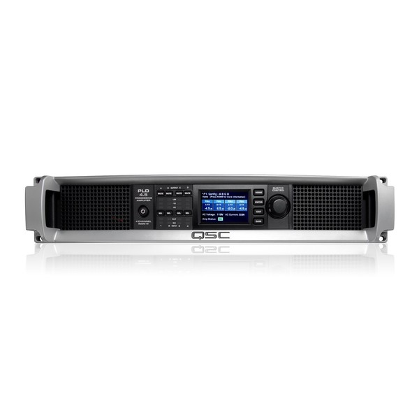 QSC PLD4.5 4-Channel Processing Power Amplifier, Front Panel