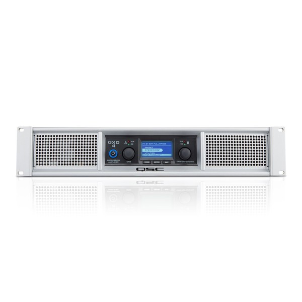 QSC GXD 4 Power Amplifier, Front Panel