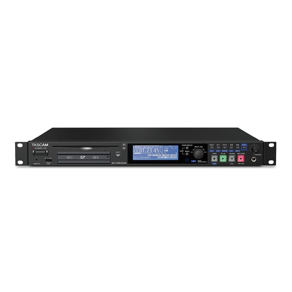 Tascam SS-CDR250N - Front