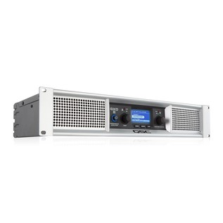 QSC GXD 8 Power Amplifier, Front Angled Right