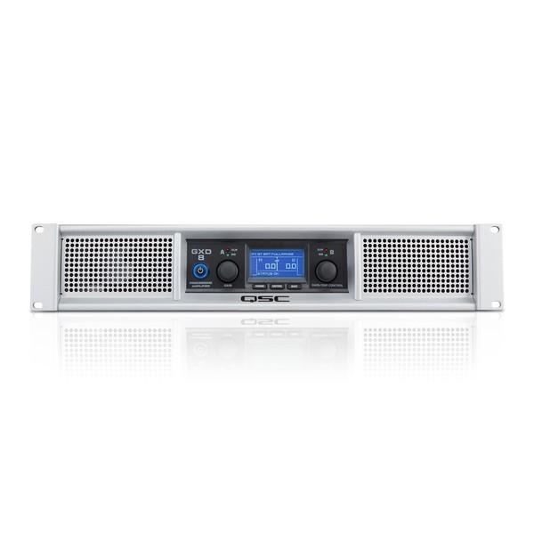 QSC GXD 8 Power Amplifier, Front Panel