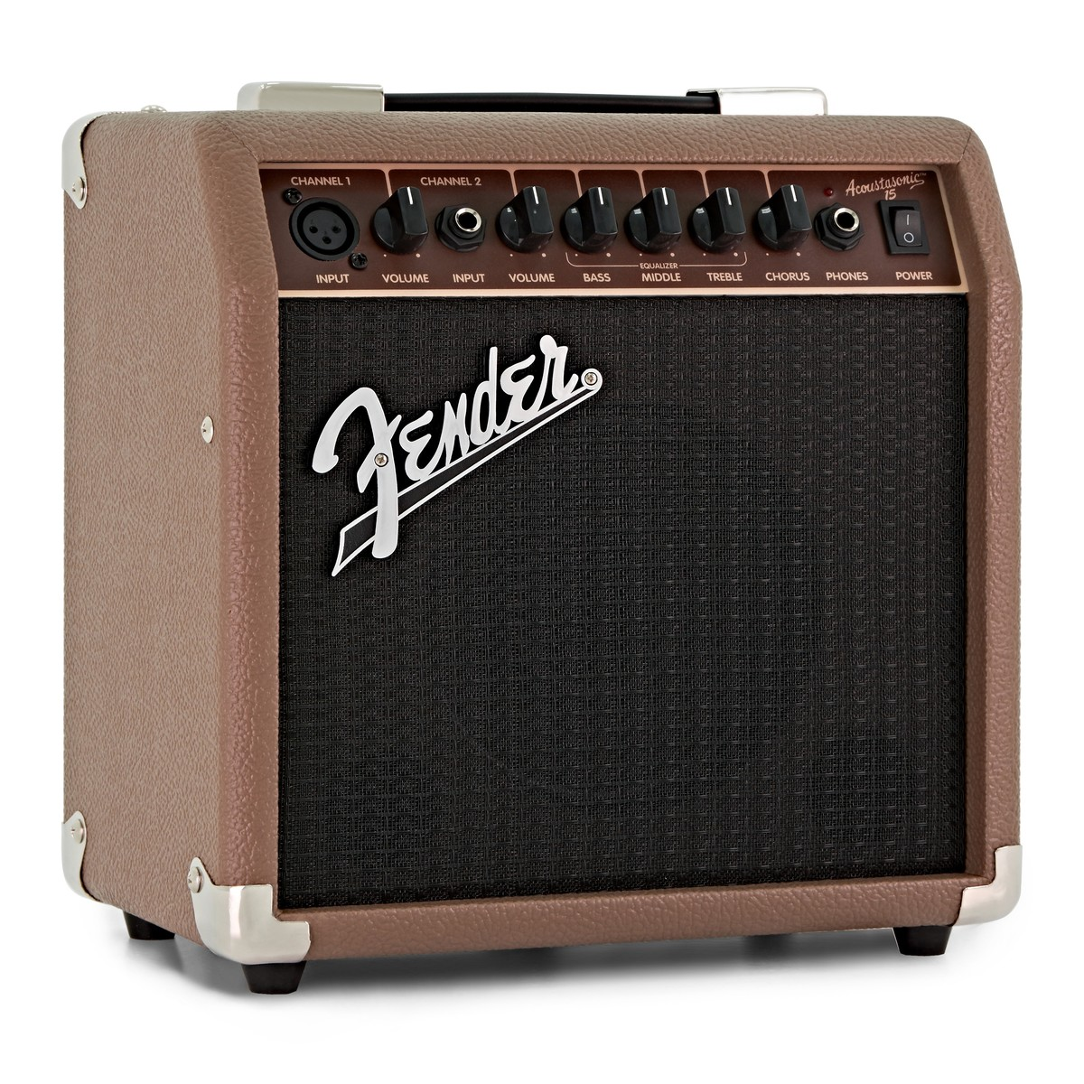 Fender Acoustasonic 40 Verstärker Combo für Akustikgitarre 40 Watt mit XLR Input