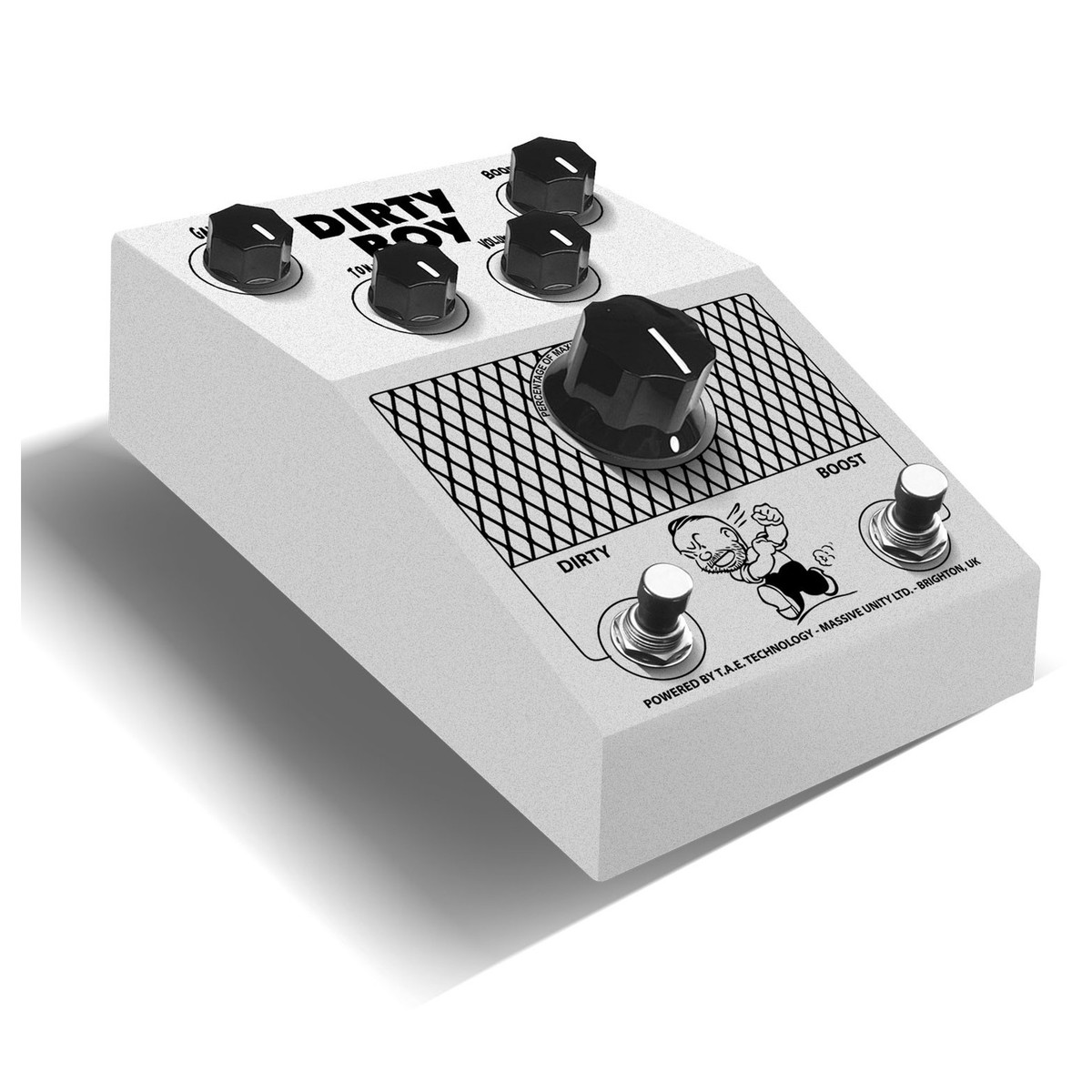 Massive Unity Dirty Boy Preamp At Gear4music Electric Guitar Violin Preamplifier Angle Loading Zoom