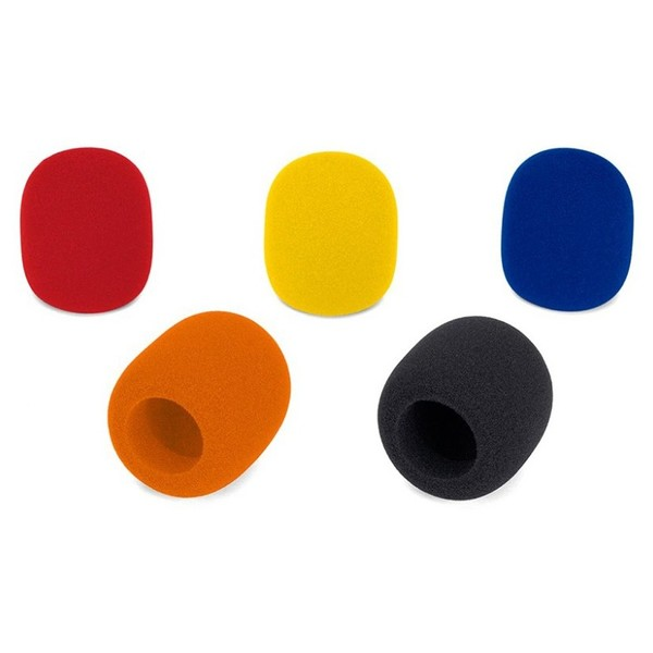 Samson Windscreen 5 Pack, Multi Colour - Main
