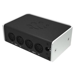 iConnectivity iConnectMIDI2+ USB MIDI Audio Interface - Rear Angled 2