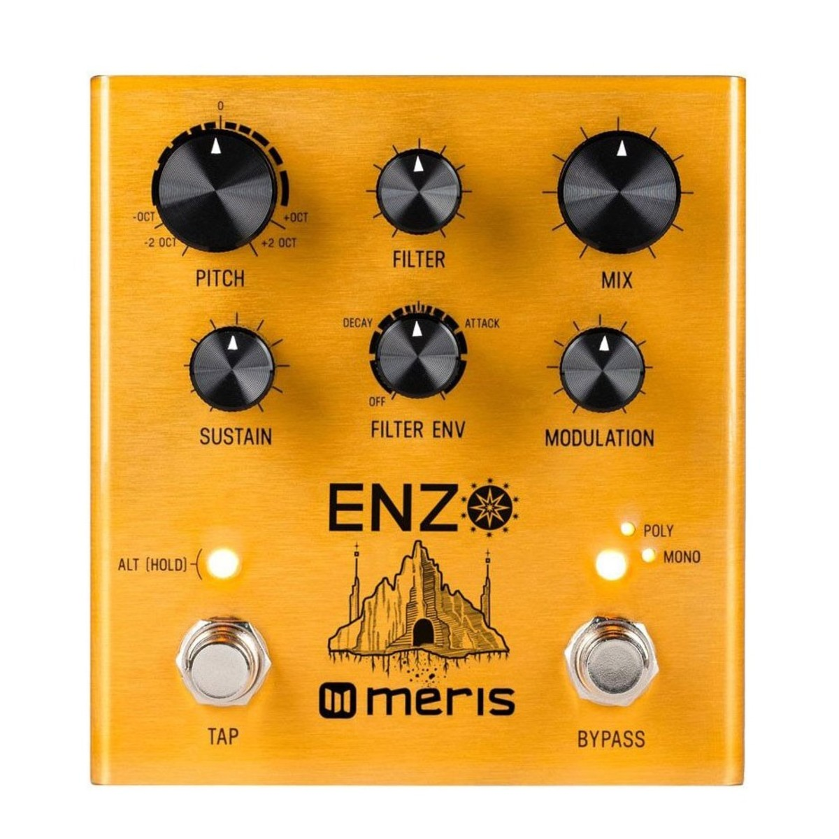 meris enzo synth pedal at gear4music. Black Bedroom Furniture Sets. Home Design Ideas