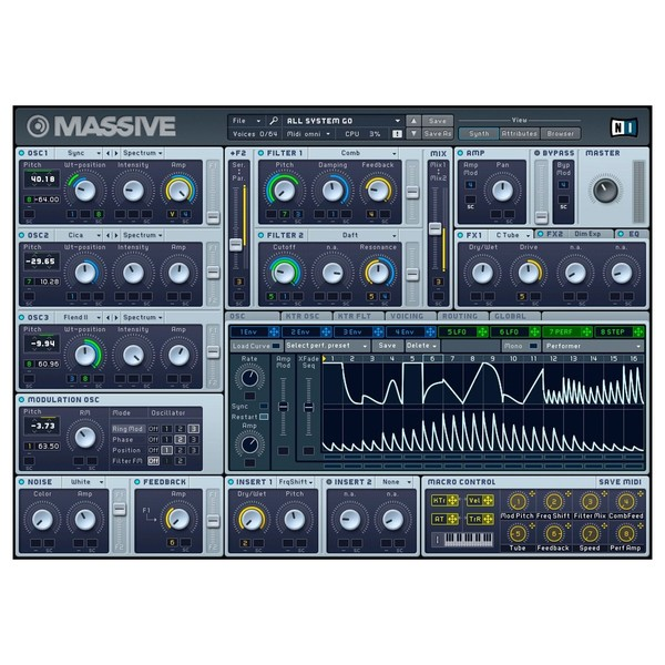 Native Instruments Komplete 12 - Massive