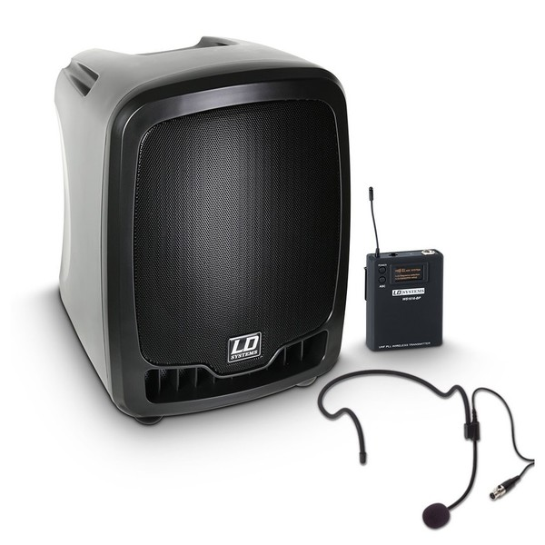LD Systems Roadboy 65 Portable PA Speaker with Headset Microphone