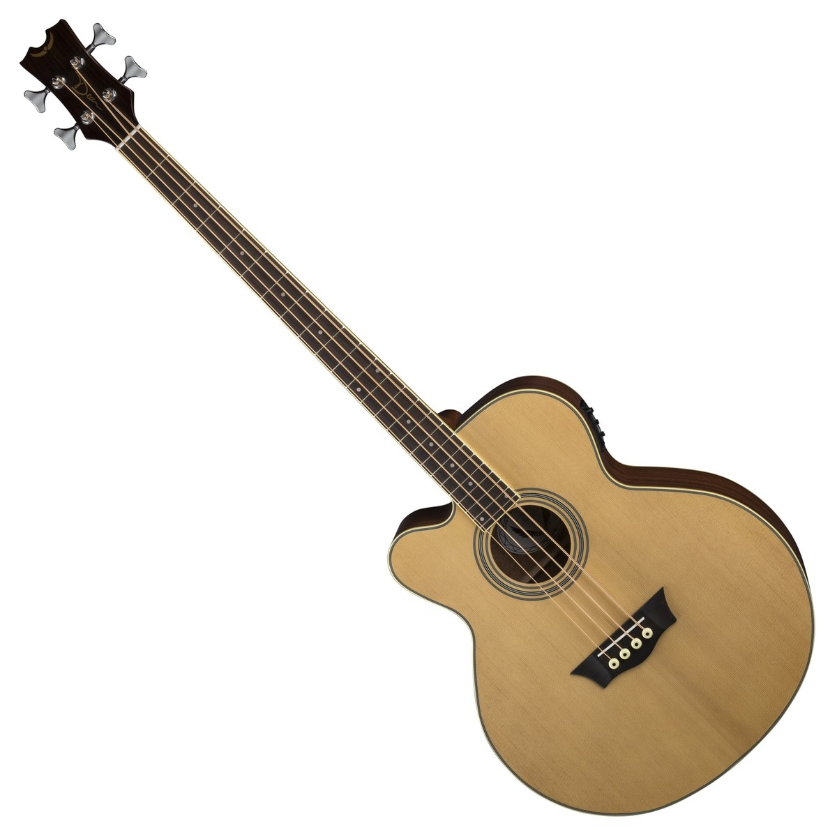 dean caw electro acoustic bass left handed satin natural at gear4music. Black Bedroom Furniture Sets. Home Design Ideas