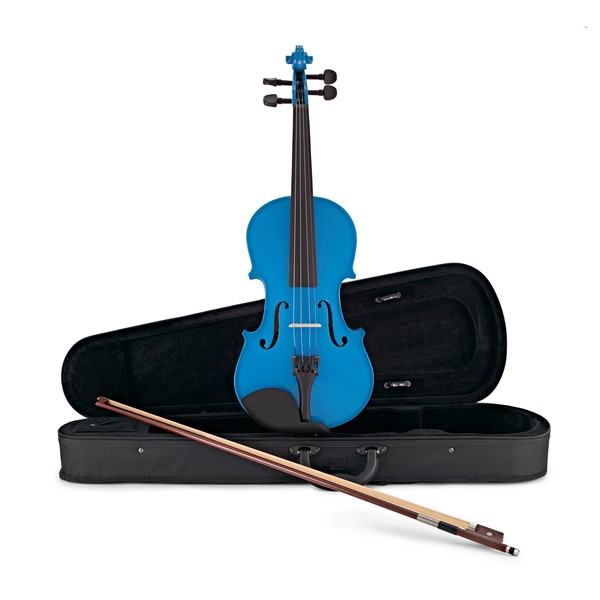 Student 3/4 Violin, Blue, by Gear4music main