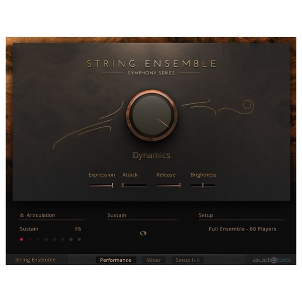 Native Instruments Komplete 12 Ultimate Collector's Edition - Symphony Strings String Ensemble