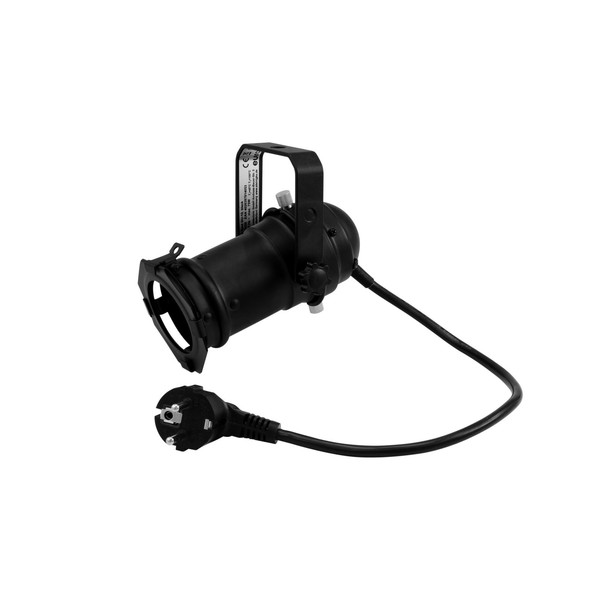Eurolite PAR-16 Spotlight with GU-10 Socket, Black