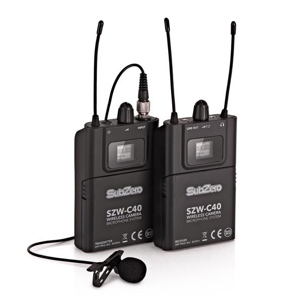 SubZero SZW-C40 Lavalier Camera Microphone System