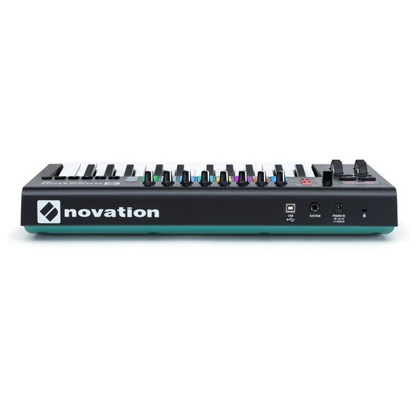 Novation LaunchKey 25 MK2 with Deluxe Keyboard Bag - Rear