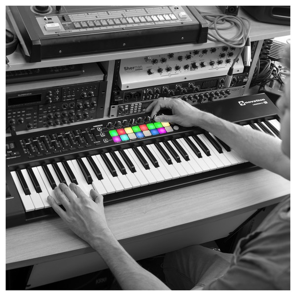Novation LaunchKey 61 MK2 MIDI Controller Keyboard - Lifestyle