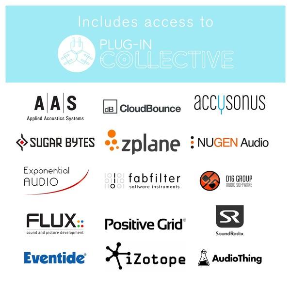 Focusrite Scarlett Solo Vocal Studio Pack, (2nd Gen) - Plug-in Collective