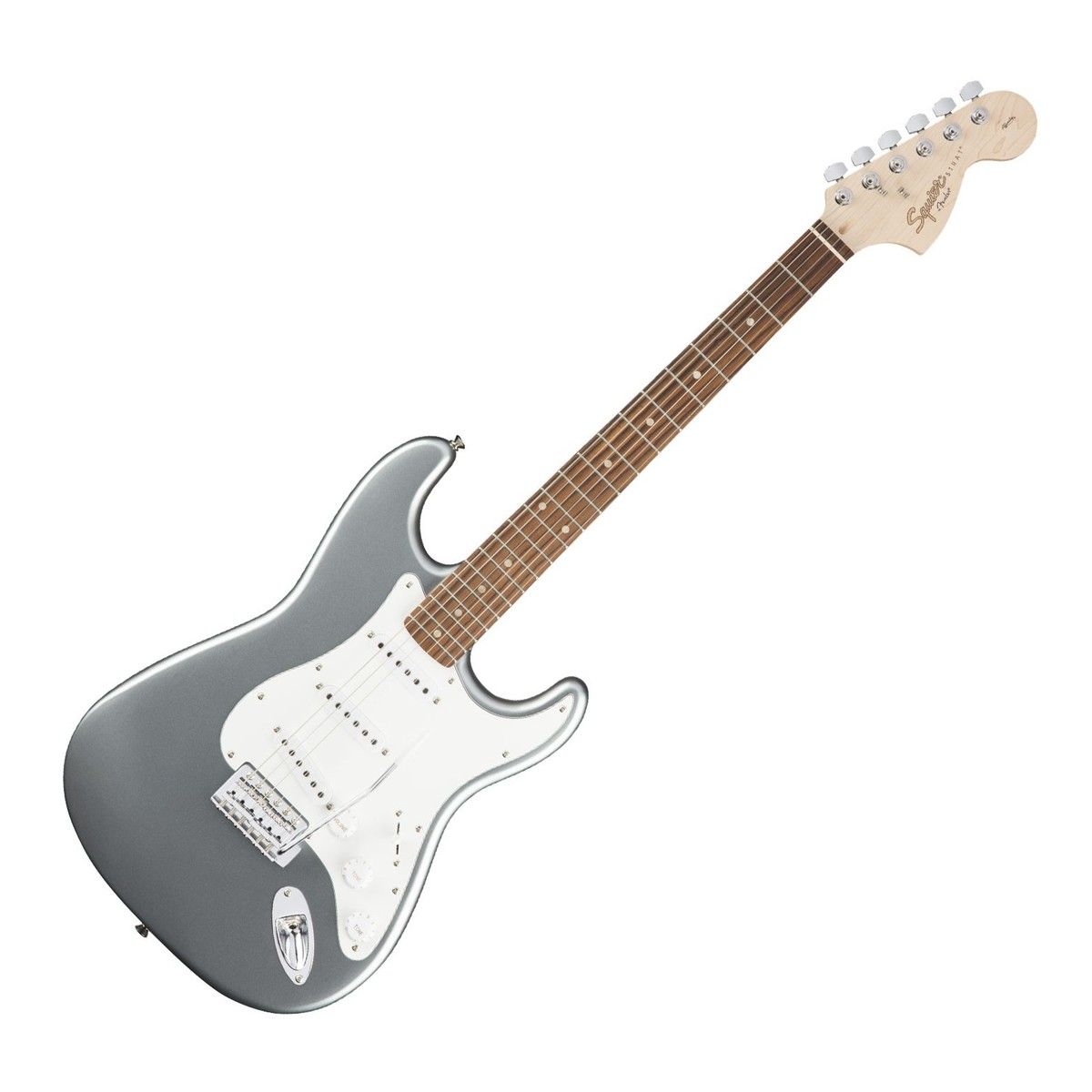 squier affinity stratocaster slick silver at gear4music. Black Bedroom Furniture Sets. Home Design Ideas