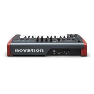Novation Impulse 25 - Rear