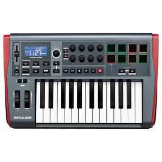 Novation Impulse 25 Key USB MIDI Controller Keyboard - Top